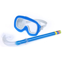 Adult Men Women Underwater Swimming Swim Pool Diving Training Easy Breathing Tube Goggles Glasses Face Masks Snorkeling Supplies(China (Mainland))