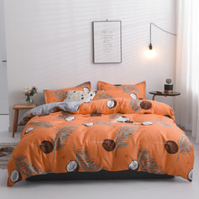 Double Bed Winter Thickening Duvet Cover+Bed Sheet+Pillowcase Home Textile Room Decoration Bedding Set 2/3/4pcs No Quilt(China)