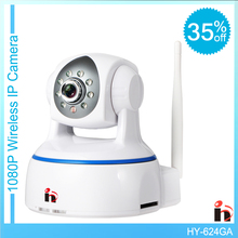H free shipping HD 1080P IP Camera wifi camera surveillance camera sd 64GB camara Wireless p2p IP camara PTZ Wifi Security Cam(China (Mainland))