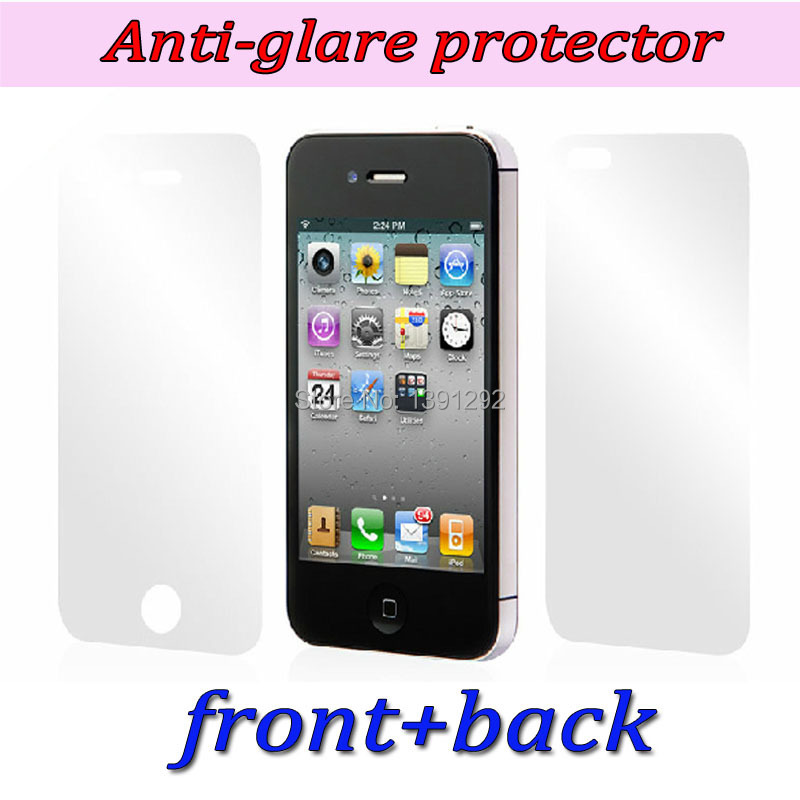 3pc front +3pc back - HD screen protector iPhone 4 4S clear protective film guard cleaning cloth gift Jia Lin communication store