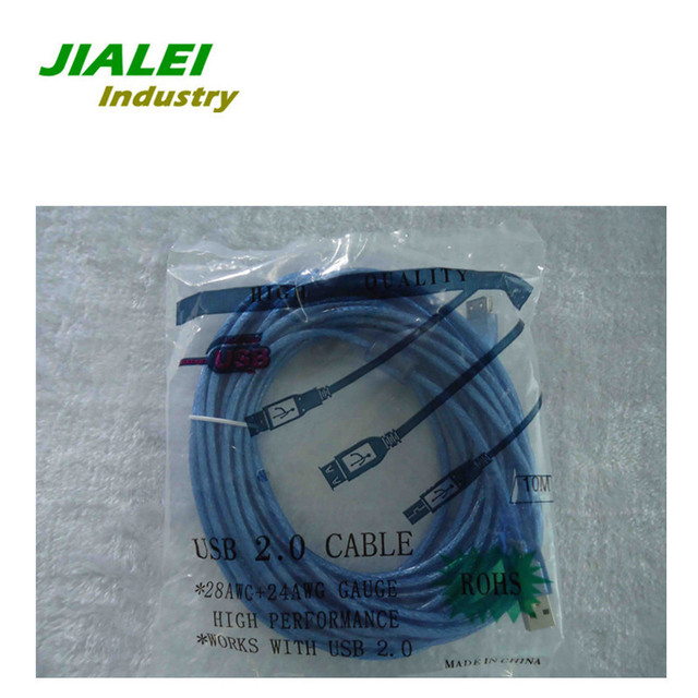 USB 2.0 Extension  Cable  Freeshipping  32FT  10M  A Male to A  Female  Built-in IC Active Repeater Wholesale 5pcs/lot