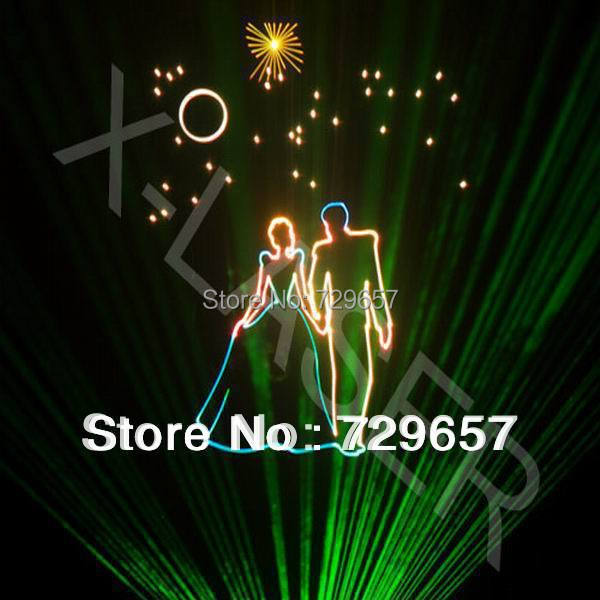 2W RGB Laser Light/RGB Laser Show/RGB Laser Projector/Stage RGB Laser Equipment