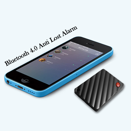Free Shipping Super Mini Bluetooth 4.0 Anti Lost Alarm,personal security wireless anti-lost alarm(China (Mainland))