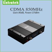 Big Power 37dBm Gain 90dB CDMA 850MHz Signal Booster repetidor de celular 850 mhz CDMA mobile signal repeater with lcd display(China (Mainland))
