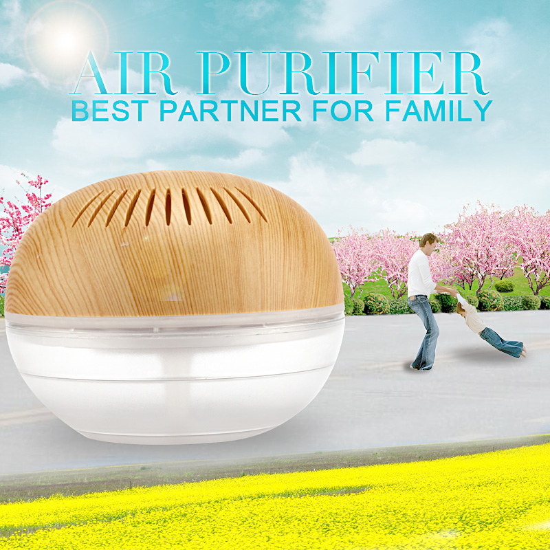 Purificador de ar 700ML Mini Portable Air Purifier Water Based Humidifier Aroma Air Purifiers For Home Air Cleaner KM-02LEWG(China (Mainland))