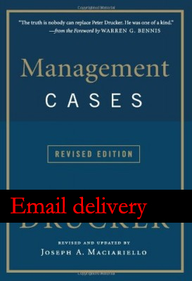 Management Cases, Revised Edition(China (Mainland))