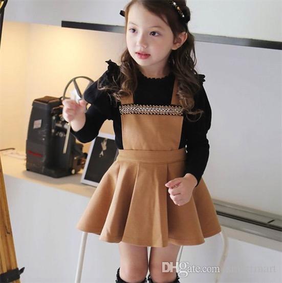 Princess Kids Girls Halter Party Dress Sweet Kids Ruffles Wool Blend Crystal Spring Fall Dress Brown and Blue Color Casual Dress<br><br>Aliexpress