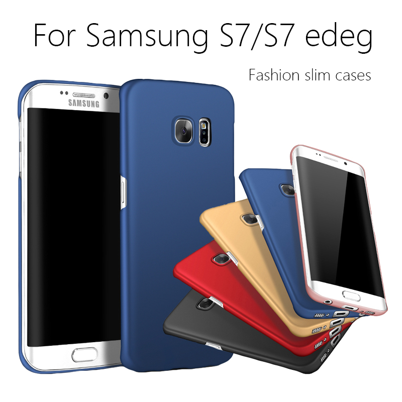 Hard cover PC Mobile Cases Back Cover Skin for Samsung Galaxy S7 edge G9300/G9350 Plastic Protective cover mobile phone cases(China (Mainland))