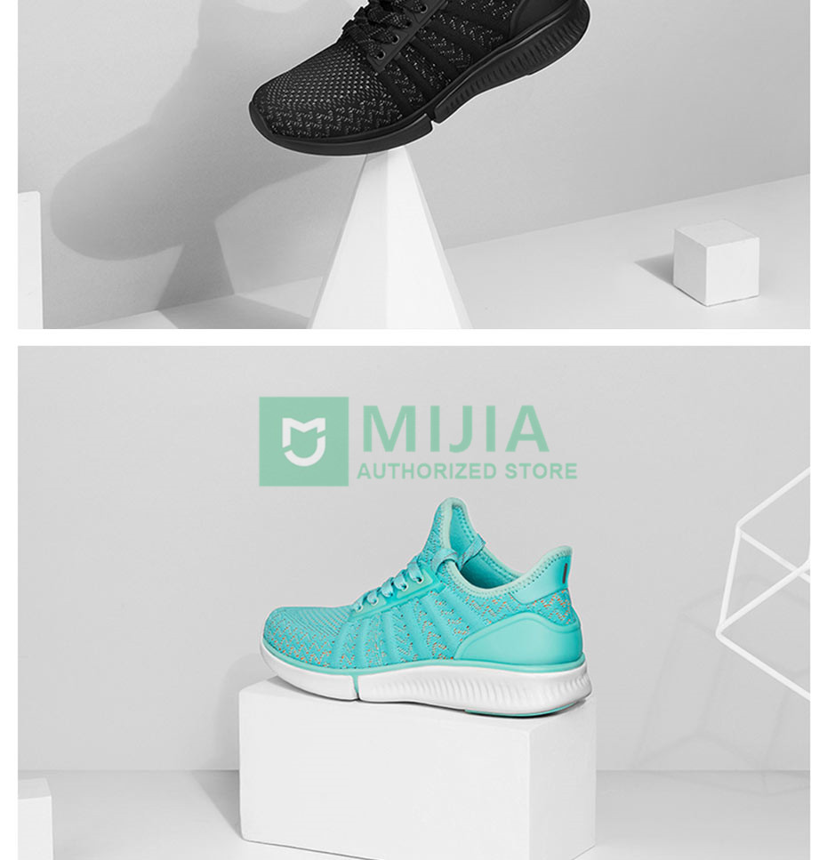 image for 2017 New Xiaomi Mijia Smart Shoes Fashionable High Good Value Design R