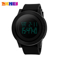 SKMEI 1193 Women Watch Sport Digital Watches LED Display EL Light Chronograph Alarm Clock Lady Wristwatches