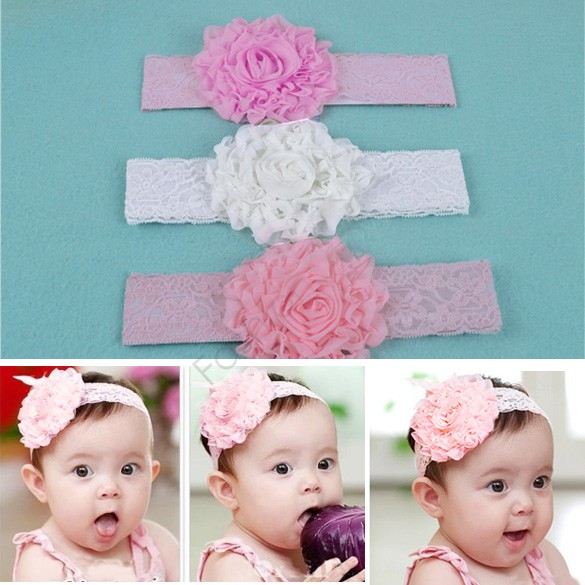 Красивые повязки на голову для новорожденных своими руками