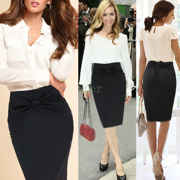 High waisted pencil skirts how to wear