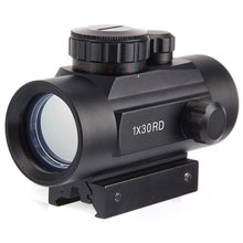 Holographic Red Dot Riflescope Tactical 30mm Lens Sight Scope Hunting Red Green Dot for Shotgun Rifle 20mm Rifle Airsoft Gun(China (Mainland))