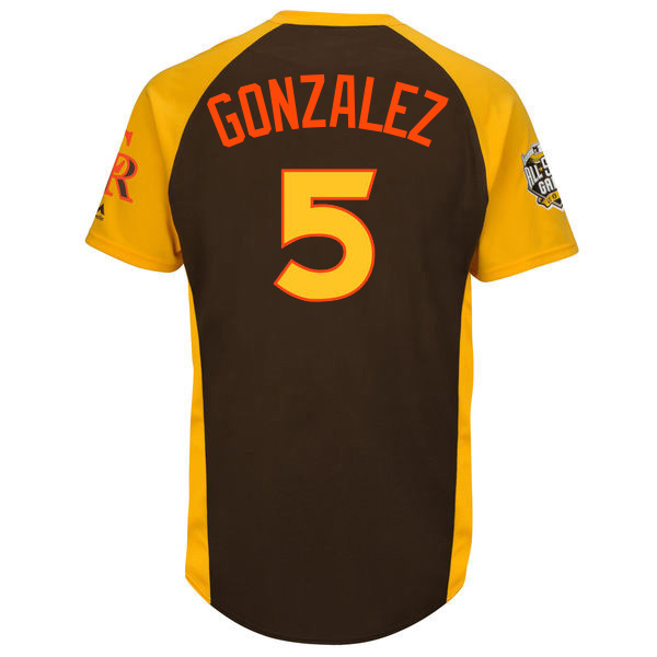 2016ASG COL #5 Carlos Gonzalez All Star Jersey Top-quality Men's,Women's,Youth Stitched Jerseys(China (Mainland))