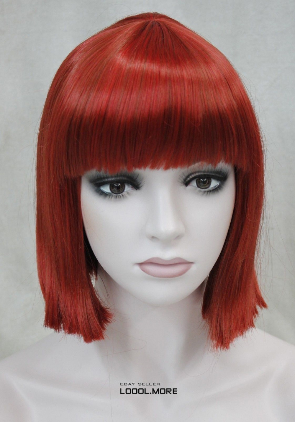 Red Wig Short 119