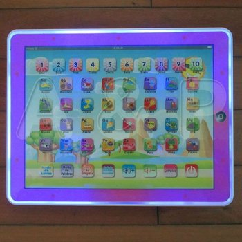 Free Shipping, Baby Gift, Y - Pad Spanish Language Learning machine, Computer touch screen ipad toy, Hot  children Learning Toys