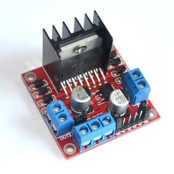 5pcs/lot New Dual H Bridge DC Stepper Motor Drive Controller Board Module L298N  Free Shipping
