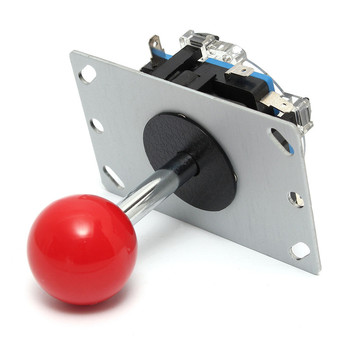 High Sensitivity Arcade Red Ball 4/8 Way DIY Joystick Fighting Stick Parts Replacement Parts For Game Arcade