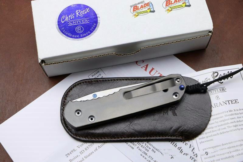 Buy New Folding pocket knife Large Sebenza 24 EDC knife D2 blade TC4 Titanium handle camping hunting outdoor survival knife tool cheap
