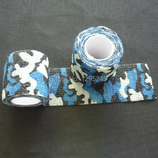 Stretchable Army Bandage Camouflage Tape Gun Rifle Stealth Wrap Desert Shooting Hunting Tactical Tapes rnb