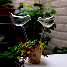 2pcs Creative drip irrigation bird automatic plant waterer Glass Self Watering Garden Sprinklers garden tools