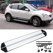 Car Running Boards Auto Side Step Bar Pedals Board For Nissan Qashqai 2007-2015. Brand OEM Style Nerf Bars sides body(China (Mainland))