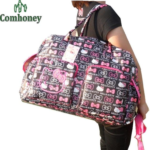 Привет котенок беременным сумки для мамы нейлон Bebe путешествий пеленки мешки приспешников ...