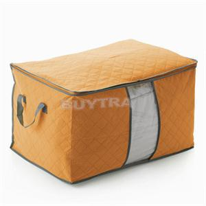 2014 1 piece Big Size Colorful Bamboo Storage Bag for Clothes Quilt Blanket(China (Mainland))