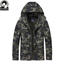 Buy 2017 men's autumn winter military camouflage jacket Hooded men's casual jackets Large Size Warm Jacket Man Windproof Men Jacket for $41.29 in AliExpress store