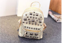 Hot Sales 2015 Snakeskin Backpack Rivet Designer School Bags Shopping Pack Outdoor Travel Satchel Rucksack bolsas mochila XA520C(China (Mainland))