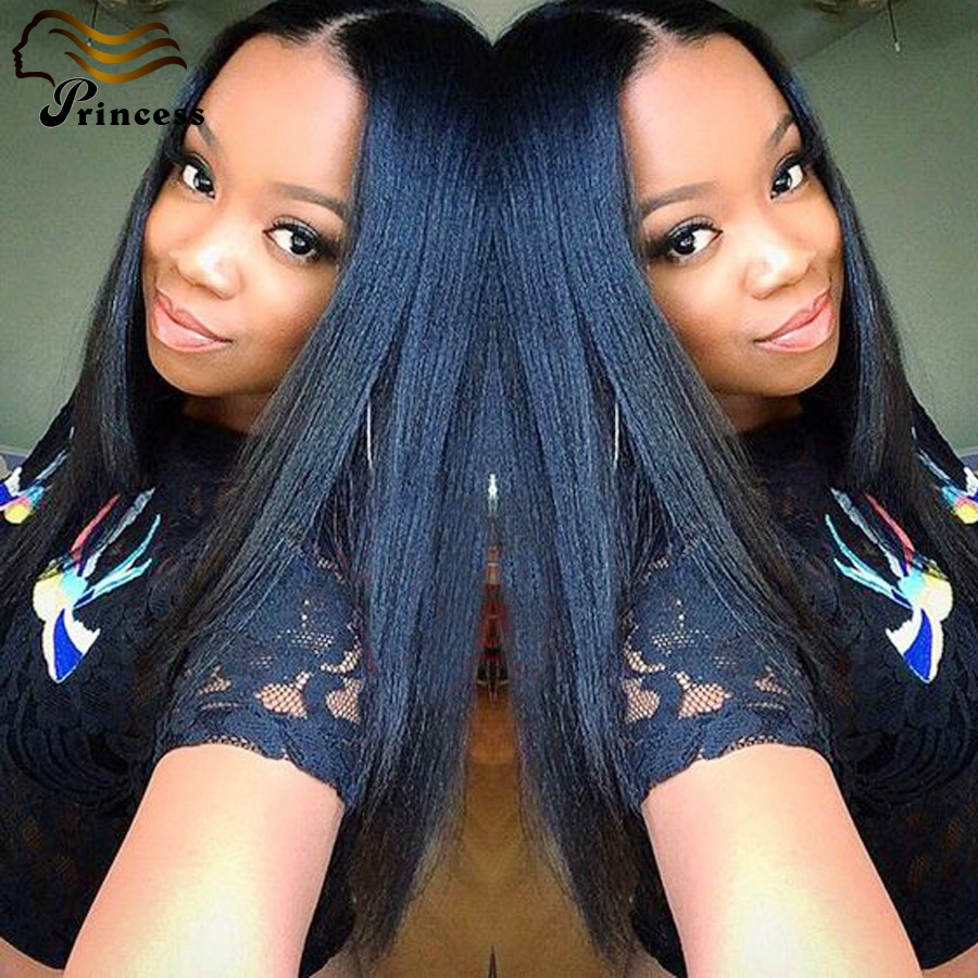 Cheap Brazilian Full Lace Human Hair Wigs Italian Yaki Straight Human Hair Wigs For Black Women Virgin Glueless Full Lace Wigs<br><br>Aliexpress