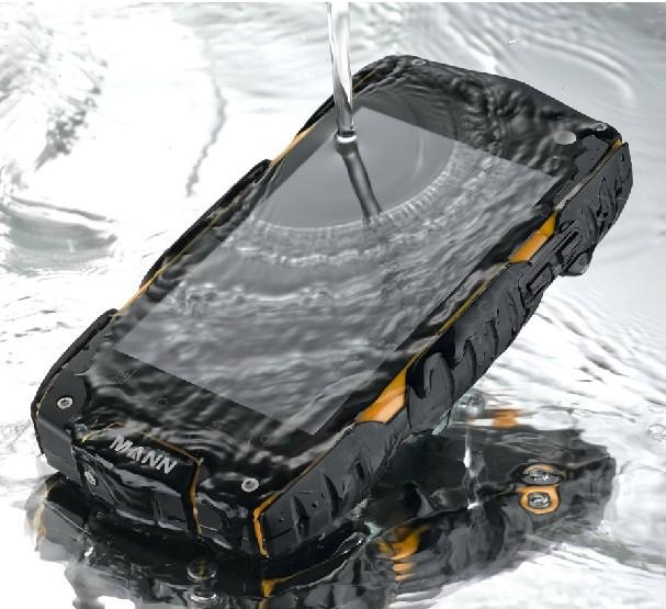 Big gifts! Free SG post ! original Mann ZUG3 A18 Quad Core 1GB RAM 4G IP68 Waterproof Android 4.3 mobile phone ZUG3 X1 H5(China (Mainland))