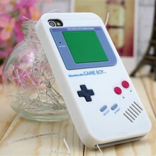Hot Sale Gameboy Phone Case For iPhone 5 5s Classic Retro Soft Silicone Back Cover Free Shipping