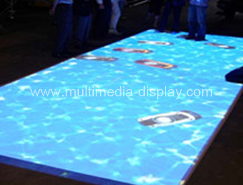 Interactive floor system include computer and projector for product Launches, event, Advertising with low price(China (Mainland))