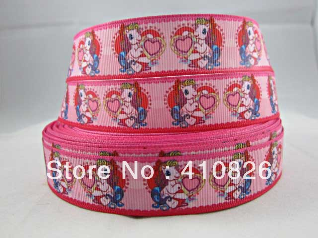 WM ribbon wholesale/OEM 7/8inch 22mm printed grosgrain ribbon 50yds/roll free shipping(China (Mainland))