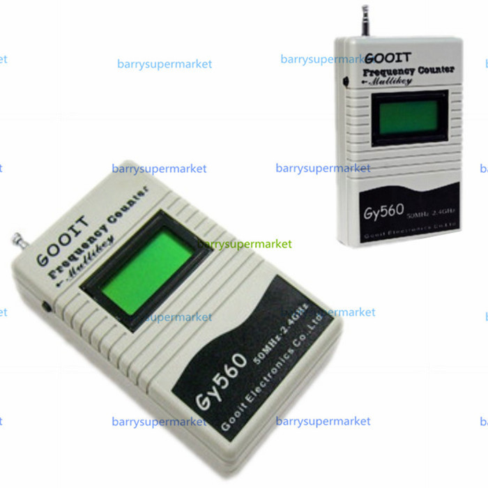 Two Way Radio Portable Frequency Counter Meter GY560 Test Range 50MHz-2400MHz