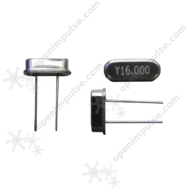 Гаджет  10pcs 16 MHz Quartz Crystal (49S) None Электронные компоненты и материалы