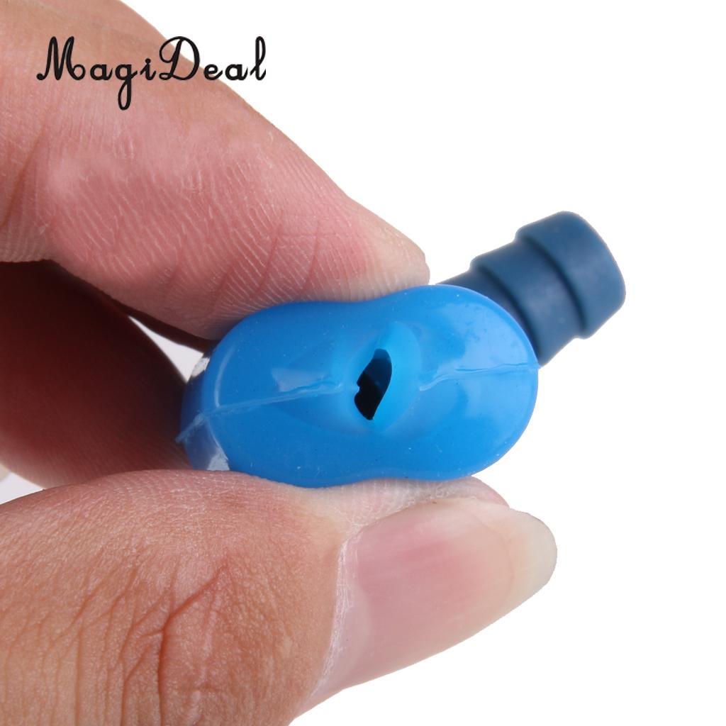 4pcs Beißventil Wassersack rechtwinklig Saugdüse mit Schalter