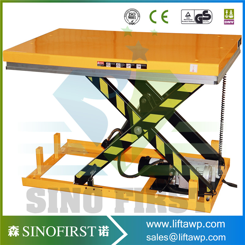 Warehouse Stationary Hydraulic Scissor Table Lift(China (Mainland))