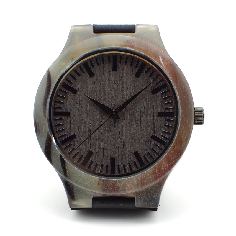Fashion New Antique Genuine Cowhide Leather Band Lovers Luxury Watches Ox horn watches Wristwatch forWomen As Best Gifts(China (Mainland))