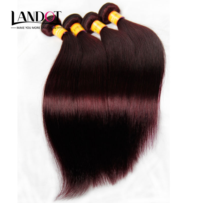 7A Burgundy Malaysian Virgin Hair Straight 100% Human Hair Weave Bundles Extensions Wine Red 99J Color 3Pcs Lot Soft Tangle Free(China (Mainland))