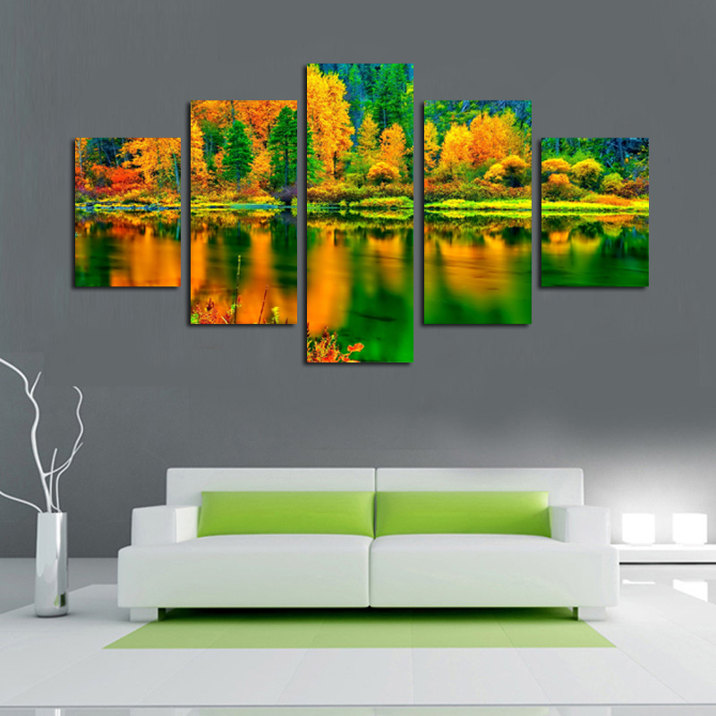 Home decoration printed oil painting canvas prints no for How to canvas art