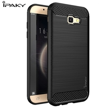 Buy Samsung Galaxy A7 2017 case Luxury Hybrid Original Ipaky Soft TPU+PC Silicone Back Cover Samsung A720 A720F Fundas Capa for $4.99 in AliExpress store