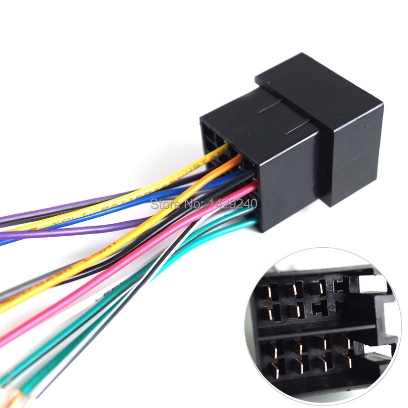 Volkswagen Wiring Harness Stereo : Aliexpress buy universal female iso radio wire