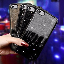 """Buy Apple iPhone 7 Cover Case Luxury Star Black Glitter Soft Silicone TPU Phone Cases iPhone 7 iPhone7 4.7"""" Back Cover Coque for $2.79 in AliExpress store"""