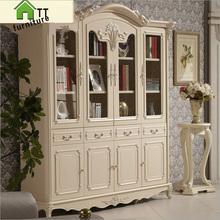 Four door wardrobe modern  European whole wardrobe French bedroom  furniture wardrobe pfy10167(China (Mainland))