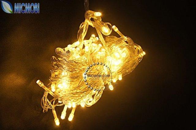 5PC/LOT Multicolour 100 LED String Light 10M 220V/110V Decoration Light for Christmas Wedding With 8 Display Modes FI-10