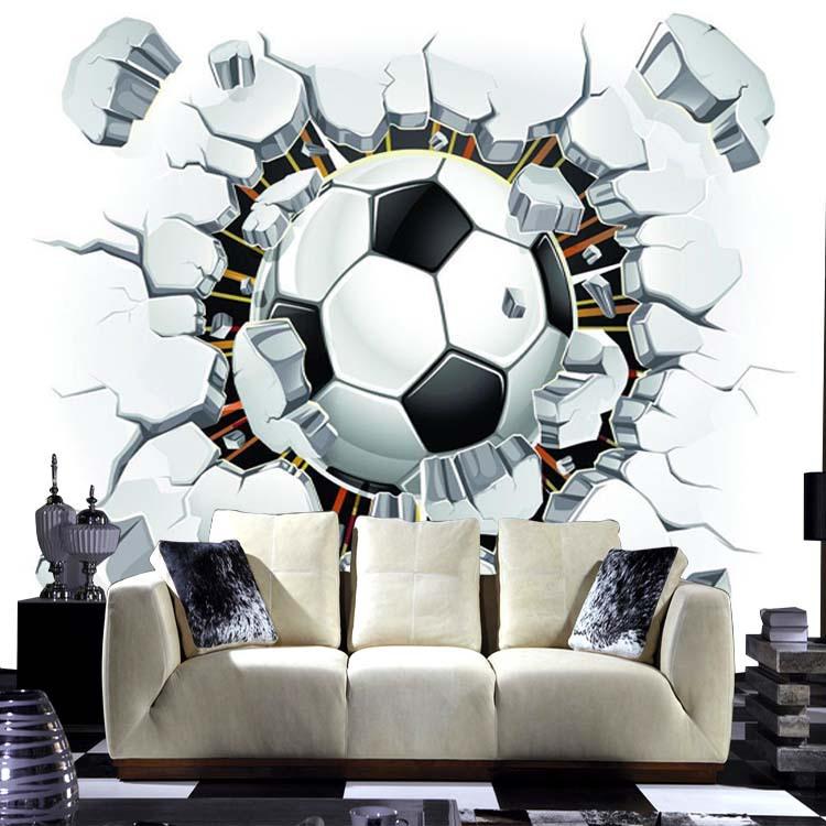 Aliexpresscom kostenloser versand 3d fu223ball sport  : kostenloser versand 3d fuball sport Hintergrund tapete wandbild sofa im wohnzimmer Schlafzimmer fuball tv hintergrund benutzerdefiniertes from de.aliexpress.com size 750 x 750 jpeg 113kB