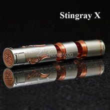 Music man Stingray X cobre MOD SS completo mecánica X MOD 18650 510 hilo Mech MOD MOD tubo