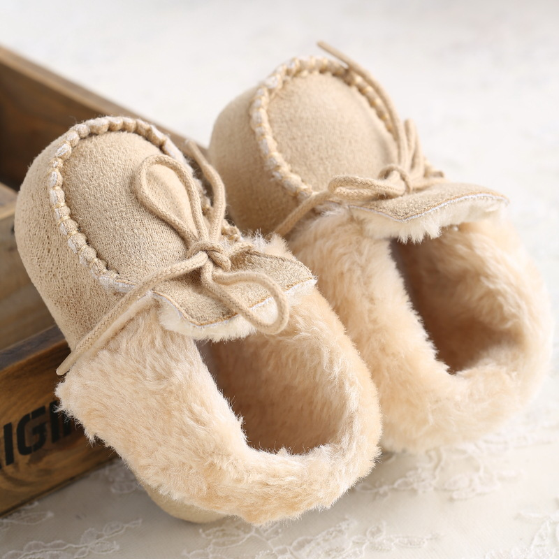 2015 Newborn Infant Winter Shoes Baby Brand First Walker Baby Girls Boys Warm bebe Shoes Products(China (Mainland))